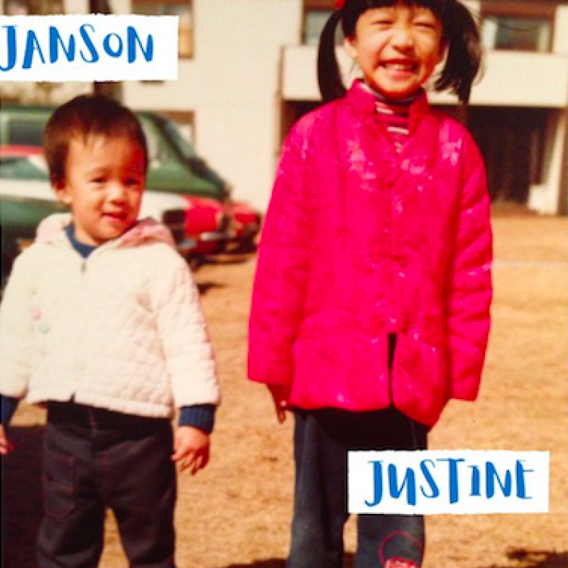 Janson and Dr. Justine Wu as children