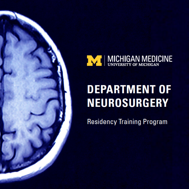 Neurosurgery Residency at-a-Glance Cover