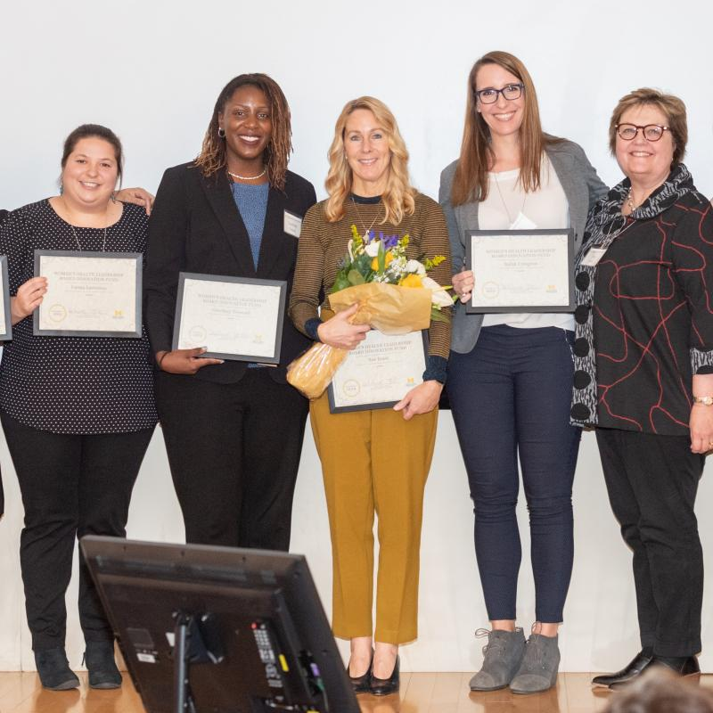 Women's Health Leadership Board Meeting 2019_Award Winners