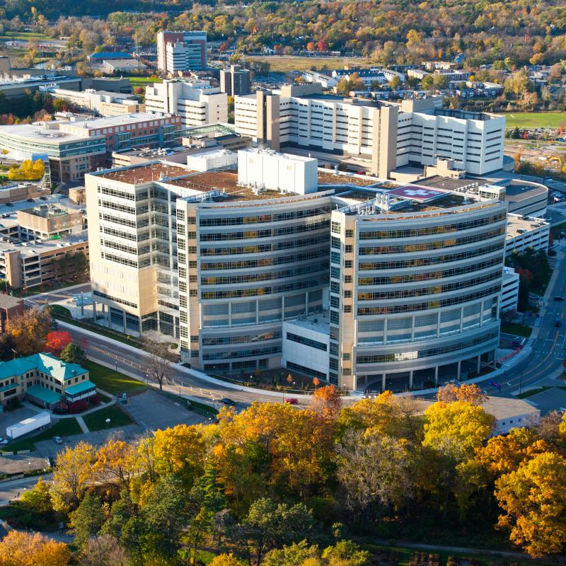 CS Mott Children's Hospital and Von Voigtlander Women's Hospital