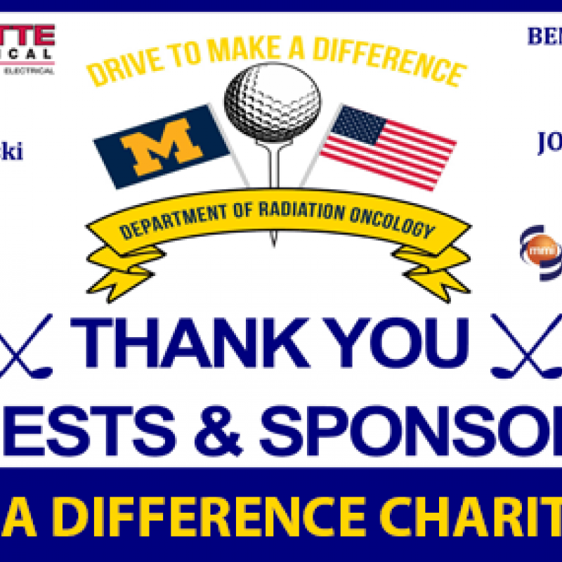 Drive to Make a Difference 2021 Fundraiser