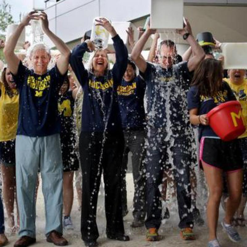 Dr. Feldman Ice Bucket Challenge