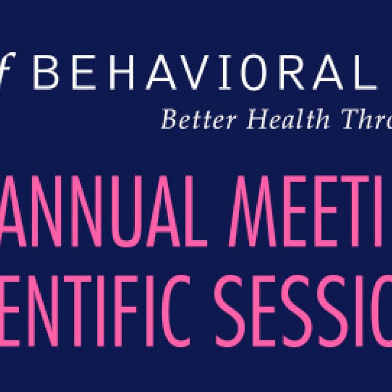 Society of Behavioral Medicine Conference