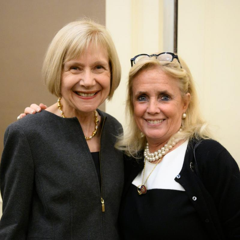 Dr. Feldman, Congresswoman Debbie Dingell