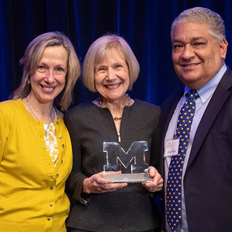 Dr. Carol Bradford, Dr. Feldman, Dr. Chuck Alejos