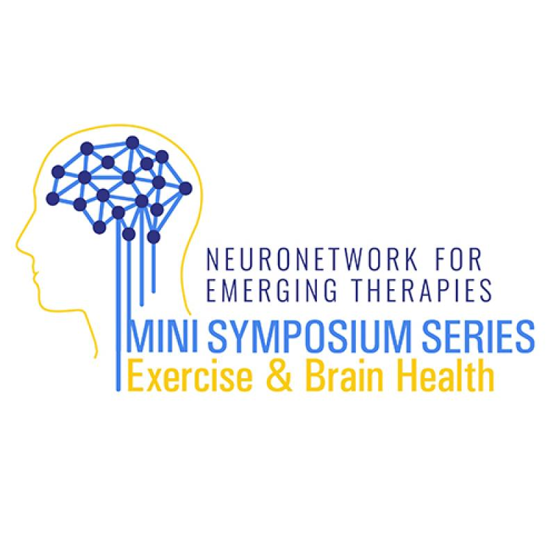 NeuroNetwork for Emerging Therapies Mini Symposium Series: Exercise & Brain Health logo