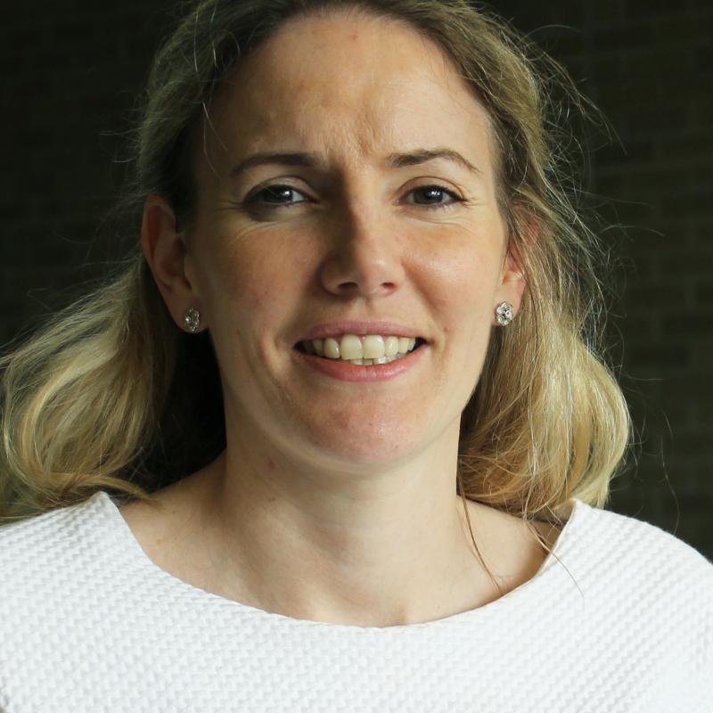 Marie Claire O'Dwyer, MB, BCh, BAO, MPH, assistant professor and director of Resident Scholarly Research in the Department of Family Medicine