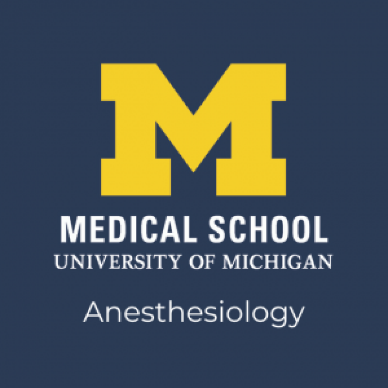U-M Anesthesiology logo