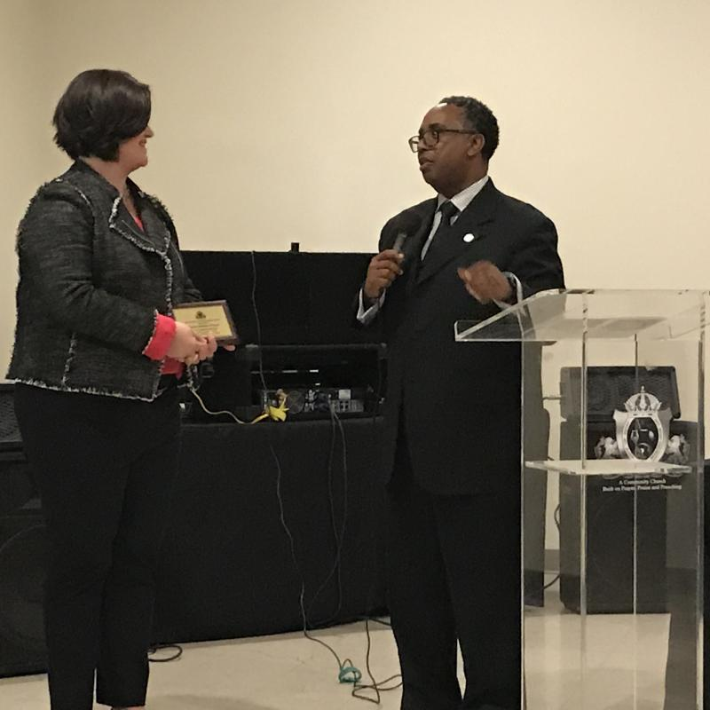 Oct. 27 City of Zion Award