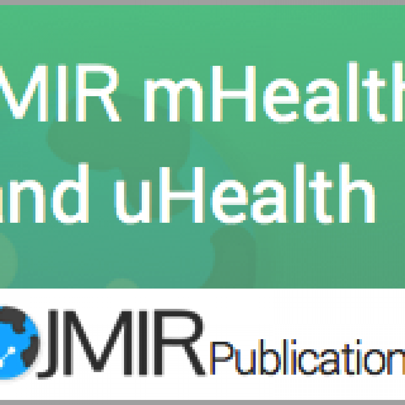 JMIR mHealth uHealth Journal of Medical Internet Research logo