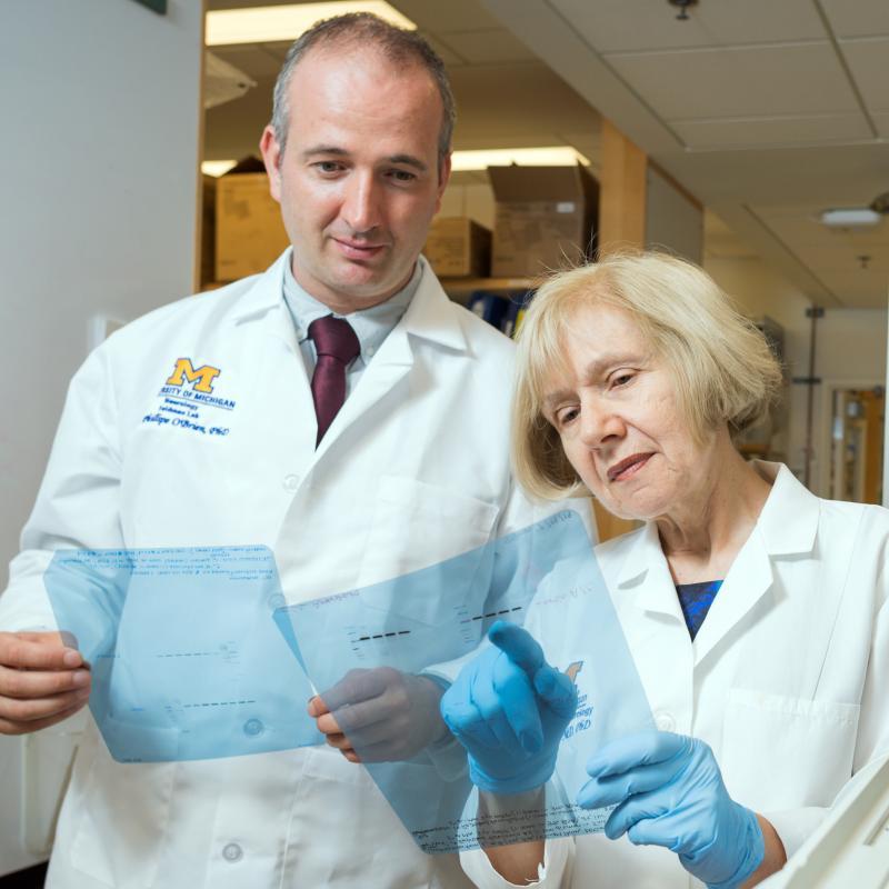 Drs. Phillipe O'Brien and Eva Feldman