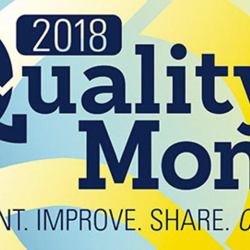 2018 Quality Month Logo