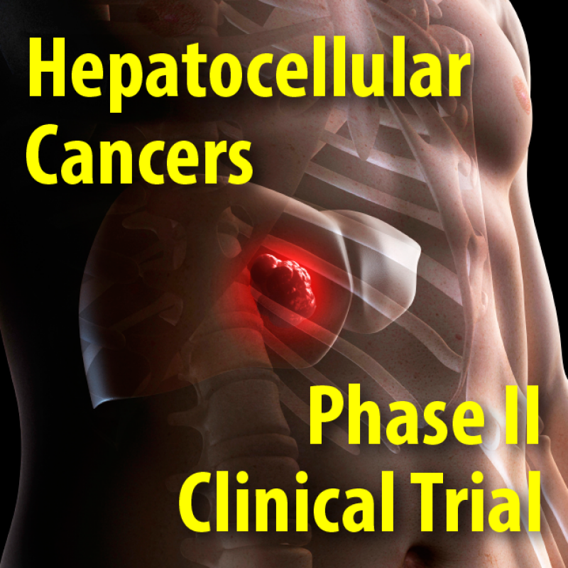 Hepatocellular cancers Phase II clinical trial