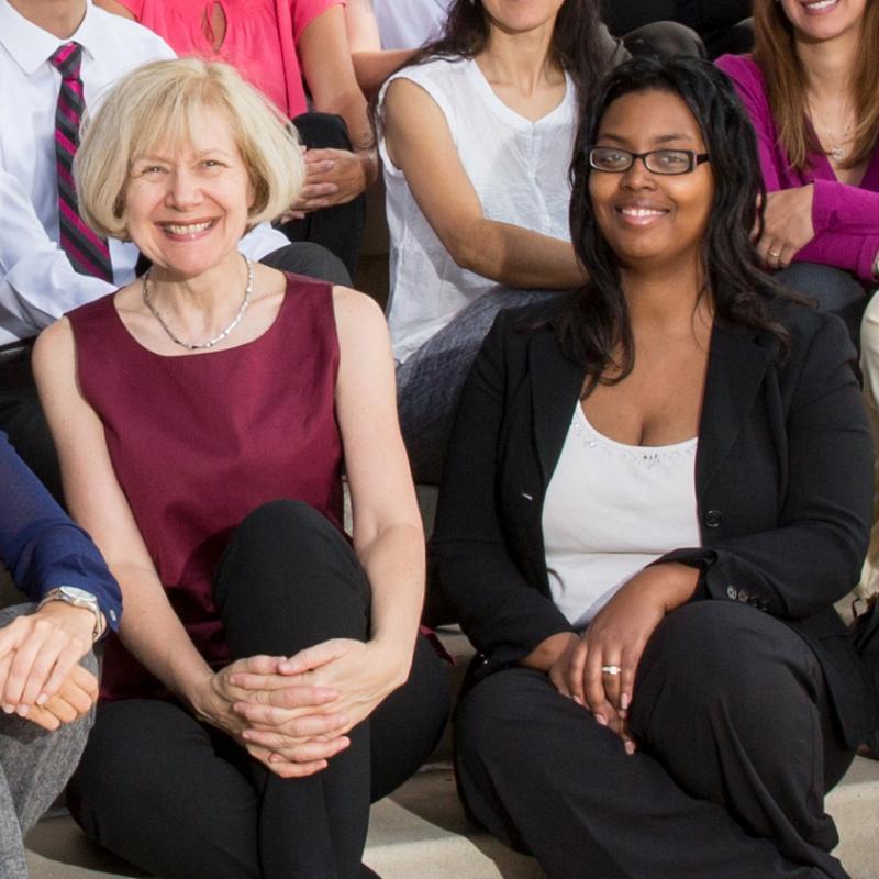 Drs. Catrina Robinson and Eva Feldman