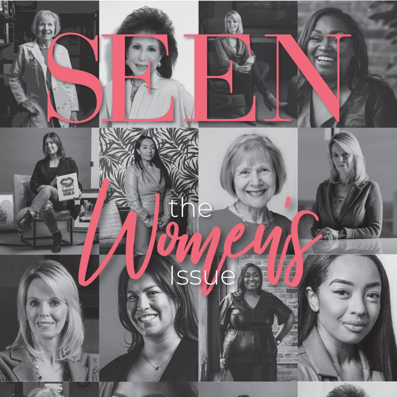 a photo of the SEEN magazine cover that features Dr. Eva Feldman