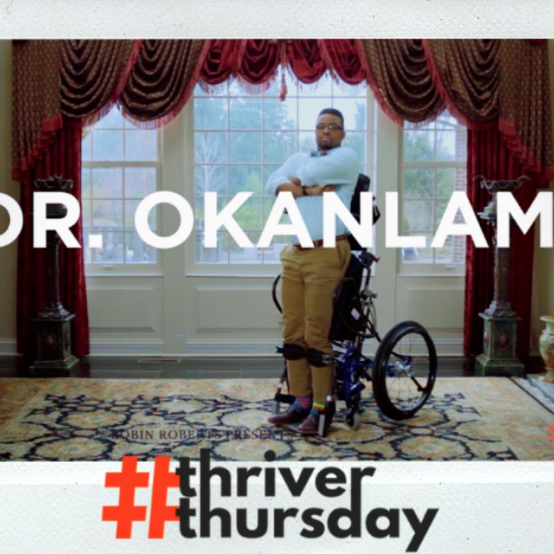 Dr. Okanlami #thriverThursday