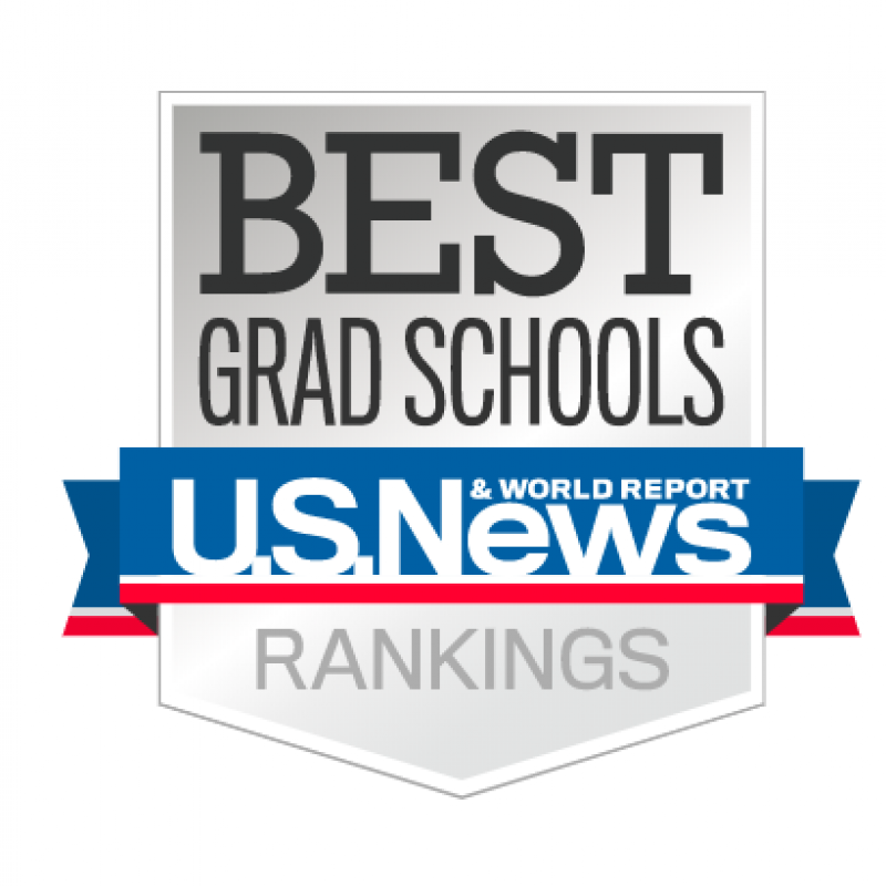 US News and World Report Best Graduate Programs 2021 Logo
