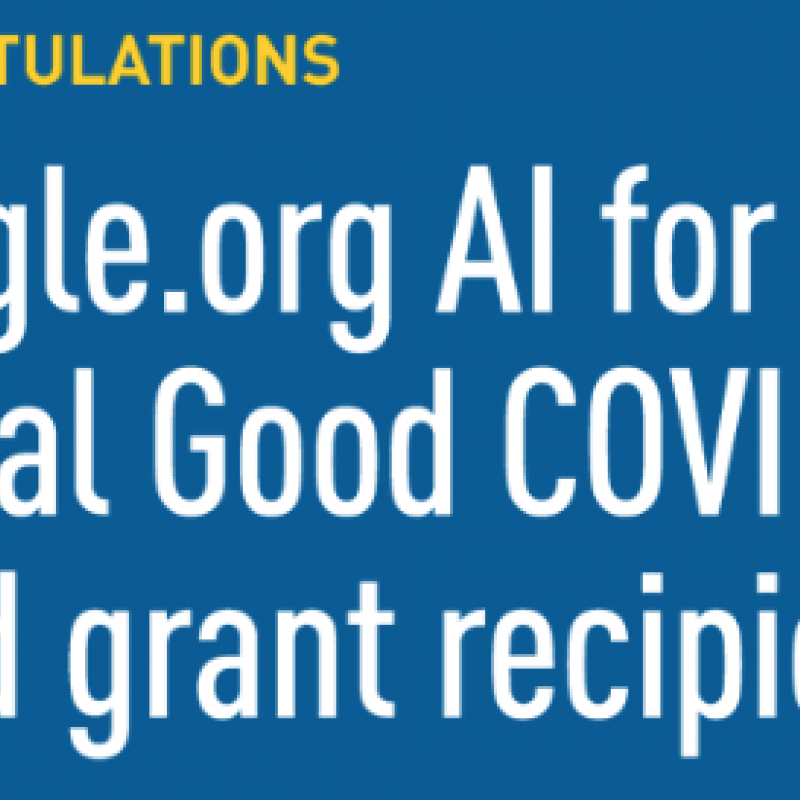 Google Grant News Item