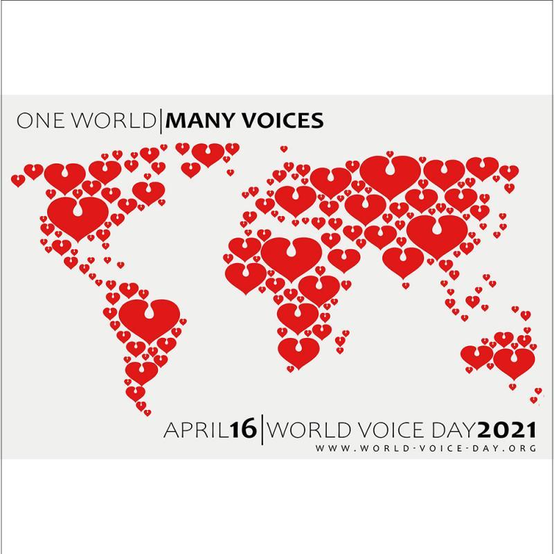 World Voice Day Graphic