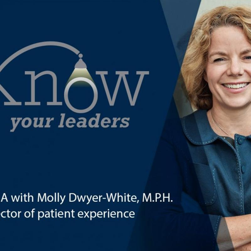 Molly Dwyer-White, Patient Experience Director, Michigan Medicine