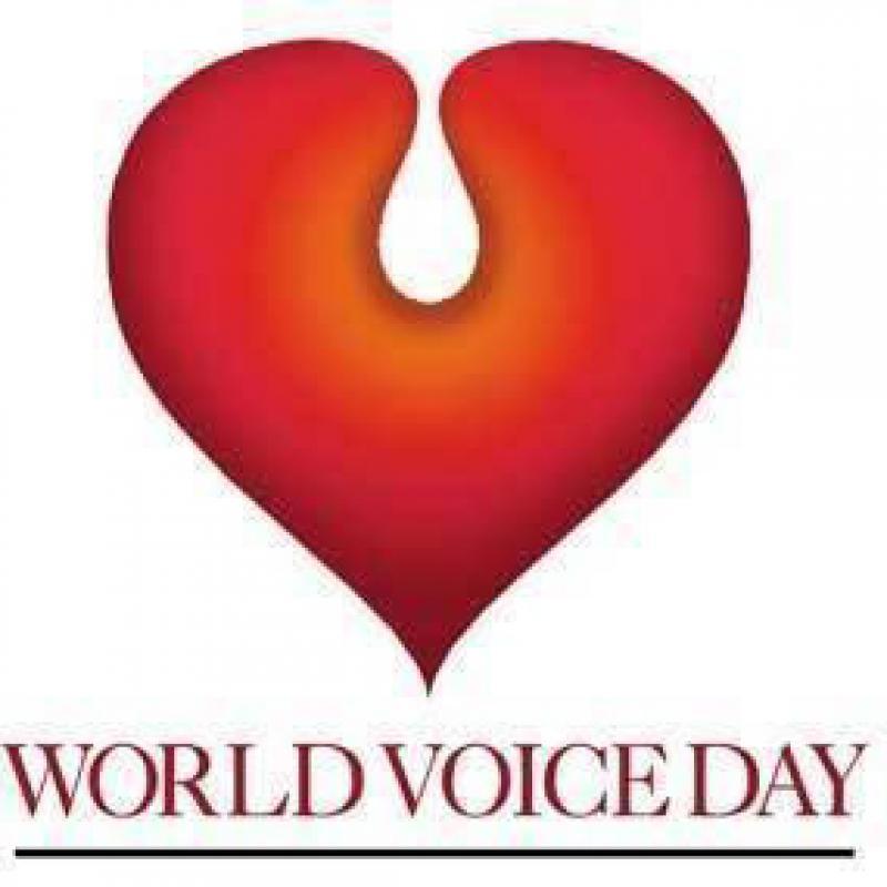 World Voice Day logo