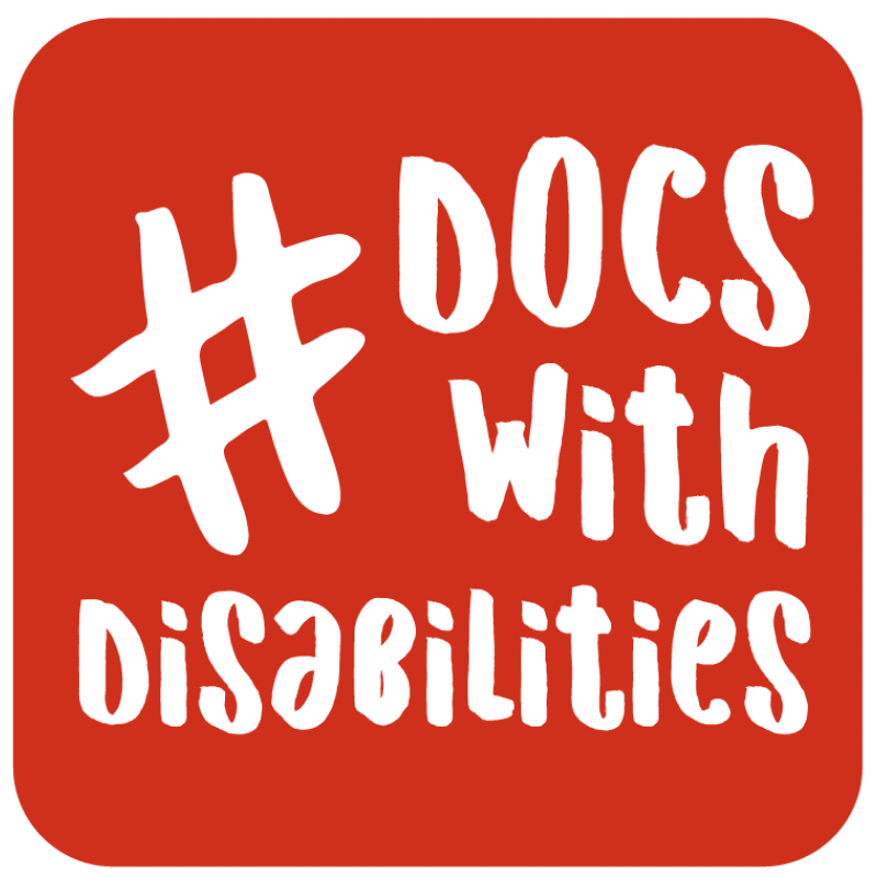 hashtag docs with disabilities