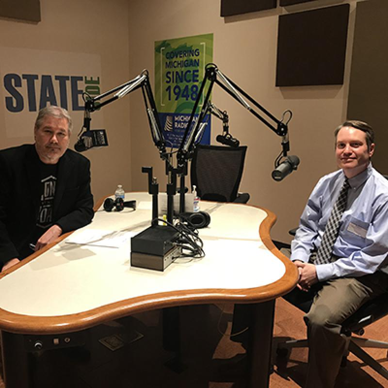 Brian Callaghan, M.D. with Lester Graham, Michigan Radio