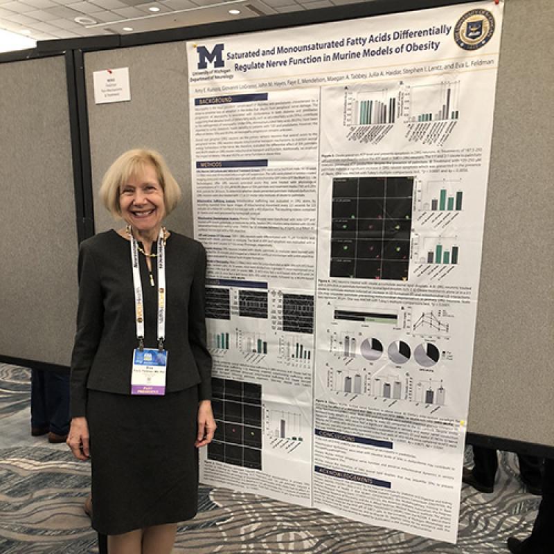 Eva Feldman, M.D., Ph.D., at ANA 2019