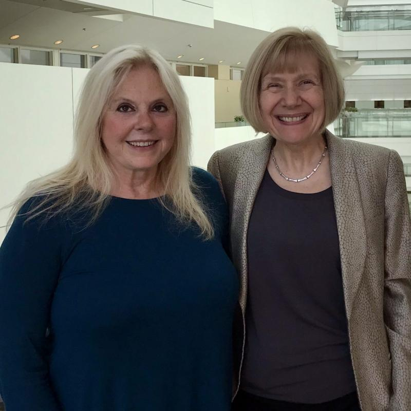 Charlene Handleman with Eva Feldman, MD, PhD