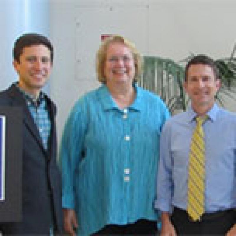 Drs. Joshua Ehrlich, Christine Nelson, and Scott Lawrence
