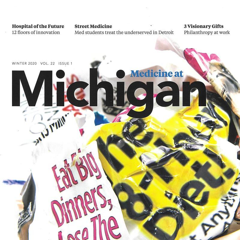 Medicine at Michigan Winter 2020 magazine cover