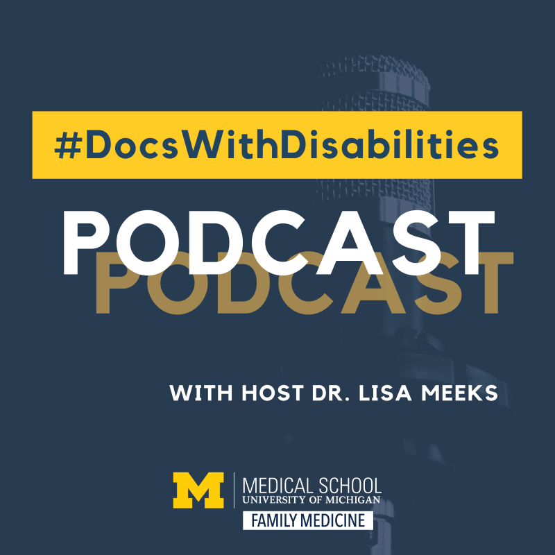 Docs With Disability Podcast Cover