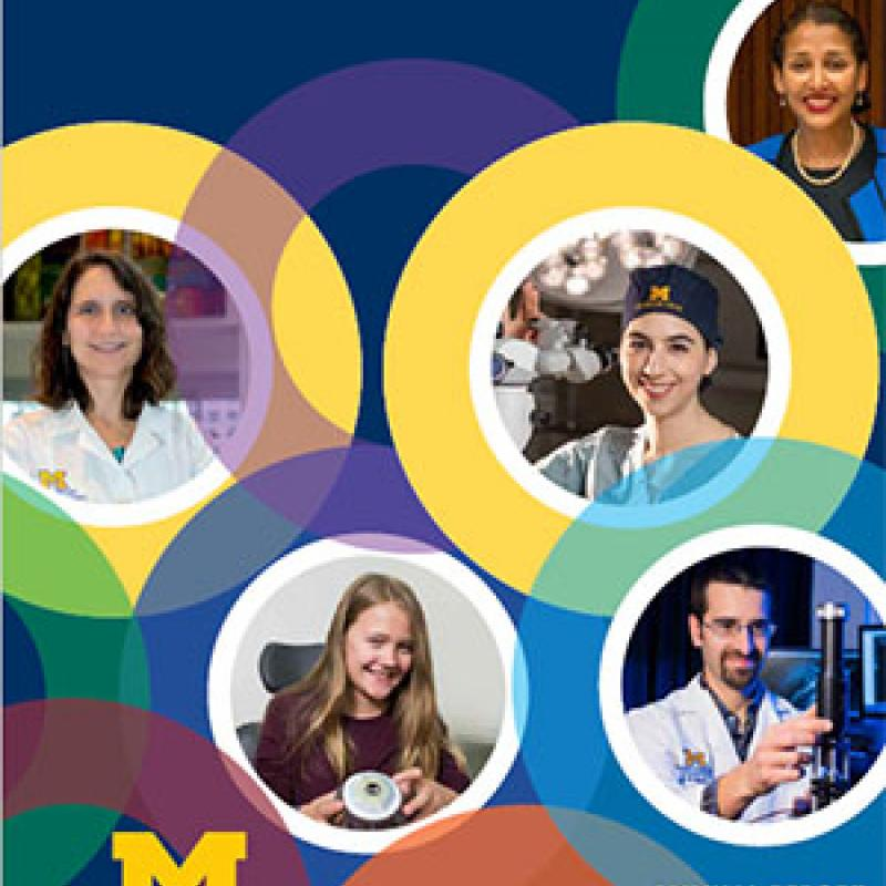 Cover of the 2019 U-M Kellogg Eye Center Annual Report
