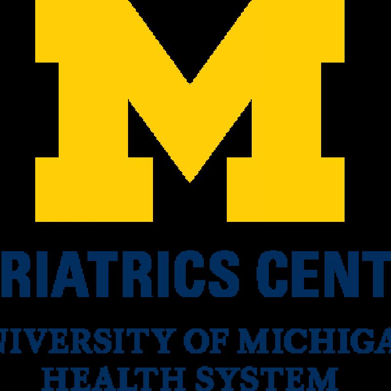 U-M Geriatrics Center Logo