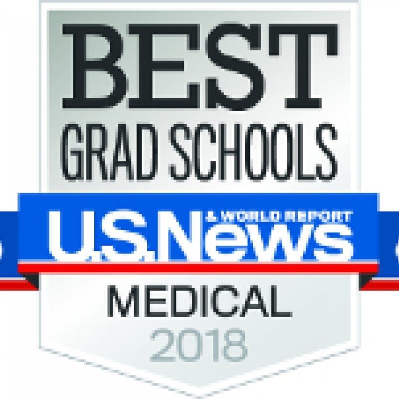 Best Grad Schools US News & World Report Medical 2018 Logo
