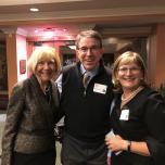photo of Drs. Eva Feldman, Bob Schoeni and Gretchen Spreitzer