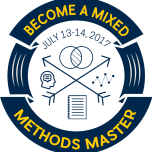 BECOME A MIXED METHODS MASTER JULY 13-14 2017