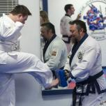 Kids with Down Syndrome use karate to improve their health