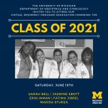 2021 Virtual ObGyn Residency Graduation