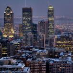 downtown montreal buildings