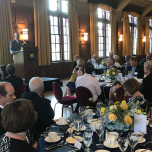 Charles P. Friedman Speaks at Celebration for Department of Learning Health Sciences and Josiah Macy Jr. Professorship in Medical Education