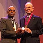 Paul R. Lichter, MD, MS, receives the Bernardo Streiff Award