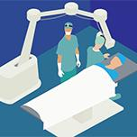 Graphic of operating room