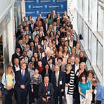 World Association of Eye Hospital Annual Meeting attendees at the Kellogg Eye Cneter