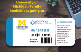 UM Family Medicine is going to NAPCRG