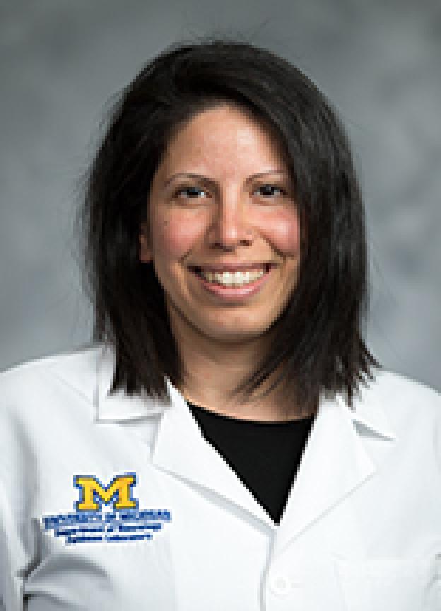 Masha Savelieff, PhD, headshot photo