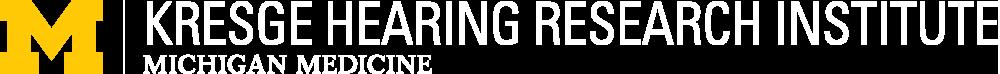Kresge Hearing Research Institute Logo - home link