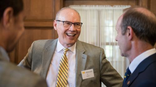 Dr. Joseph Kolars and Dr. Mark Prince