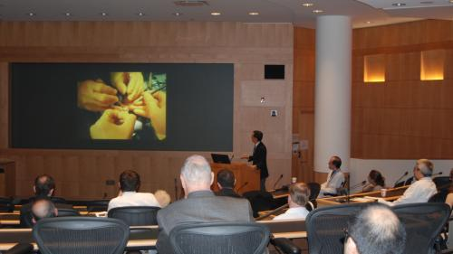 Auditorium during a Hand Surgery Visiting Lectureship
