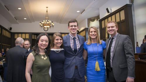 Vascular surgery trainees at the Bryant Lecture